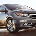 Honda lại bị thu hồi gần 25.000 xe Odyssey minivan