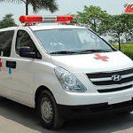 Xe cứu thương Hyundai Starex nhập khẩu