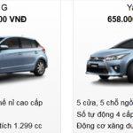 Cập nhật Bảng báo giá mới nhất của hãng Toyota Việt Nam