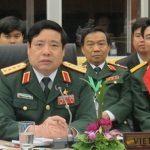 Bộ Trưởng Quốc Phòng Phùng Quang Thanh đến cơ quan sau khi về Việt Nam