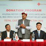 Hãng xe Hyundai ủng hộ 300.000 USD cứu trợ nạn nhân động đất tại Nepal