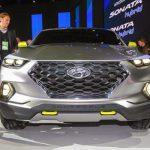 Cận cảnh xe bán tải Santa Cruz đầu tiên của Hyundai