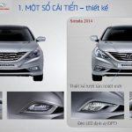 Hyundai Sonata 2014 bản hòa âm của thiết kế và công nghệ