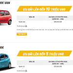 Ôtô nhỏ khuyến mại hàng chục triệu trước ngày áp thuế mới