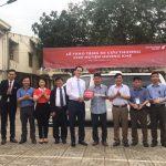 Ngân hàng Maritime Bank tặng xe cứu thương ở Hà Tĩnh