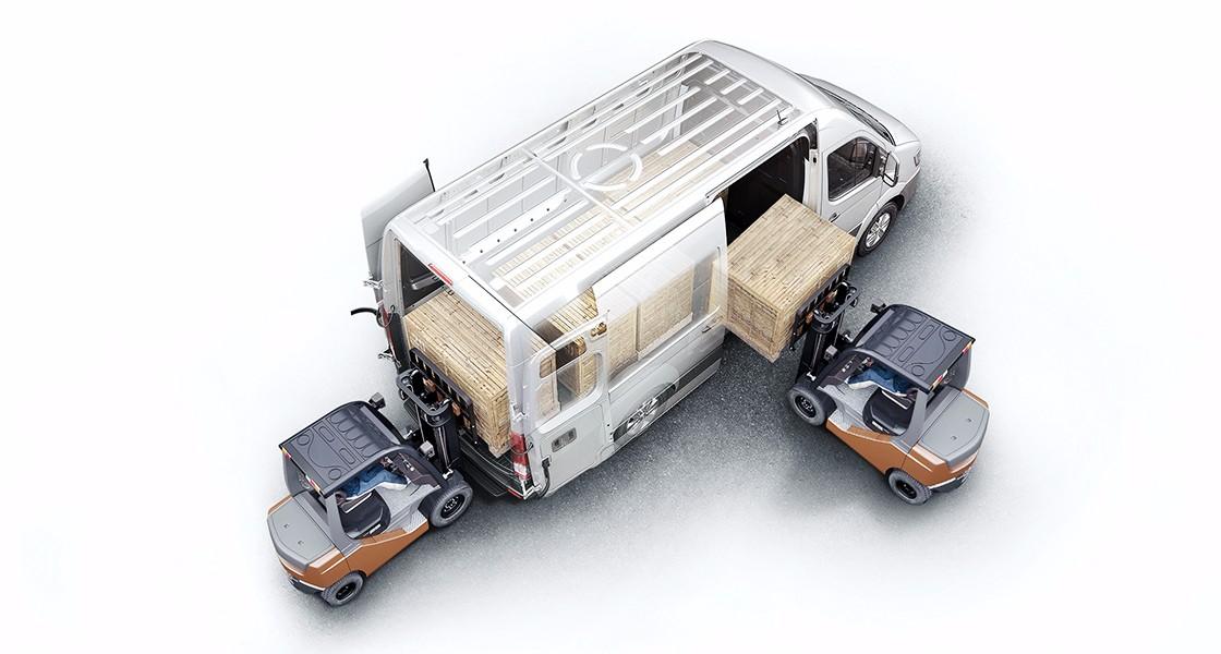 Hyundai Solati được thiết kế thành xe tải van