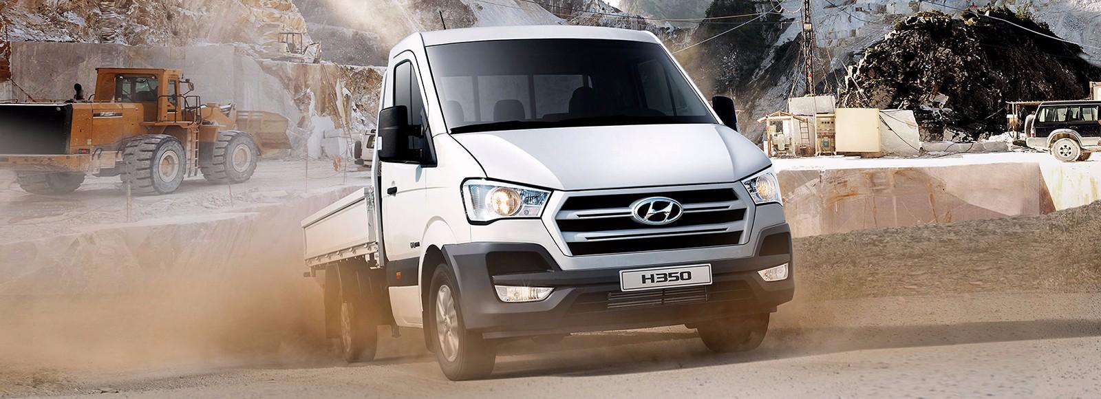 Hyundai Solati được thiết kế thành xe chở hàng