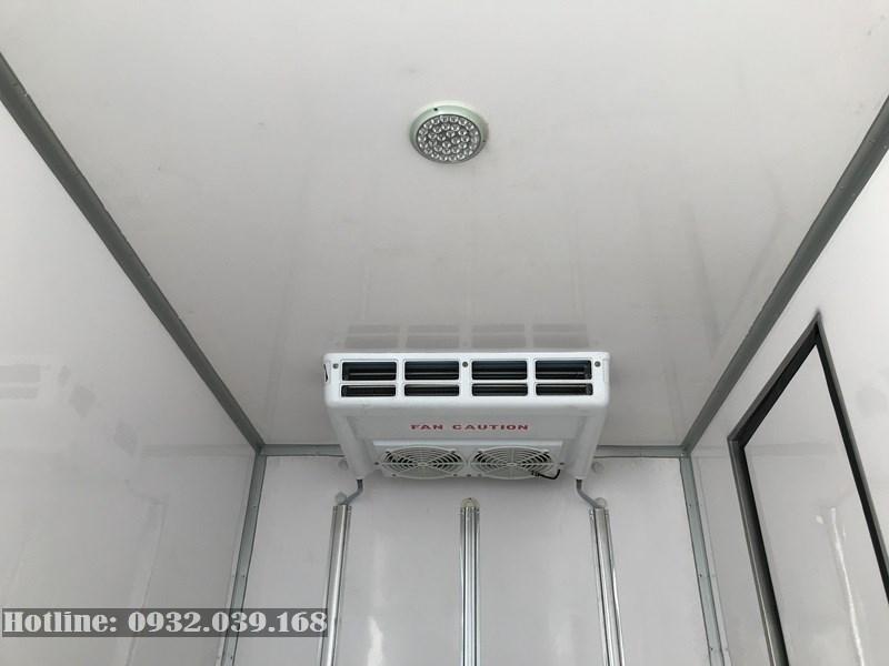 Thùng đông lạnh Hyundai 1,5 tấn H150