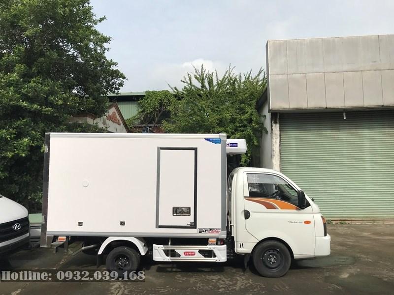 xe tỉa Hyundai 1,5 tấn H150 đông lạnh