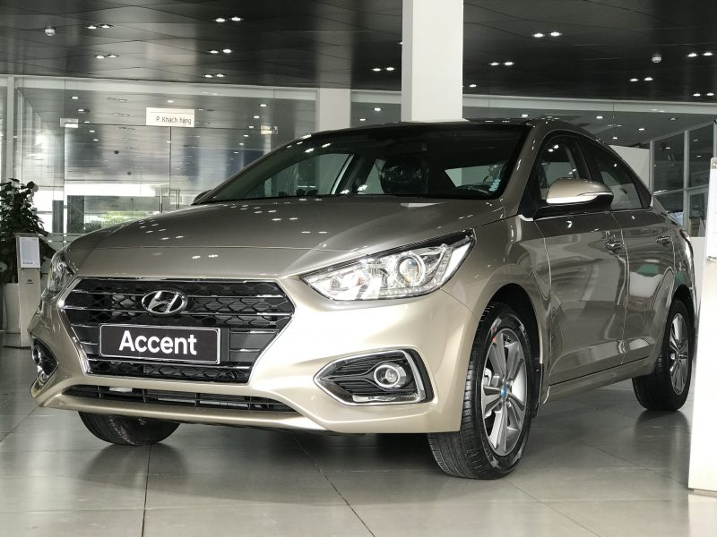 Hyundai Accent 2019 màu Be