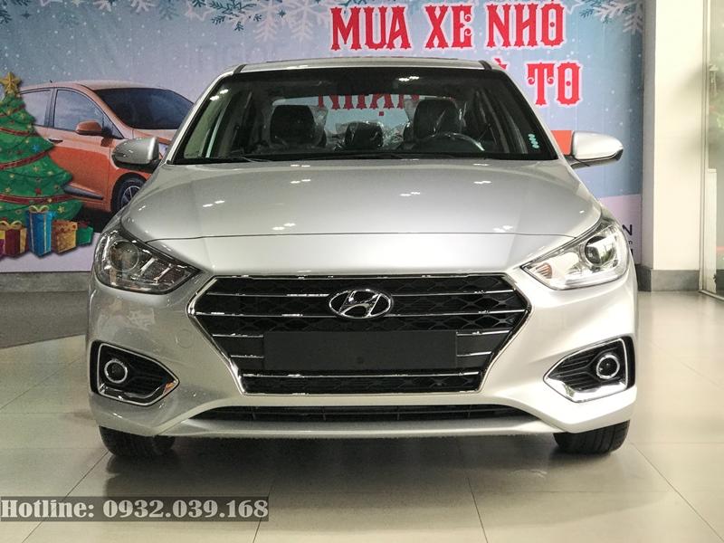 giá xe Hyundai Accent 2020 màu bạc