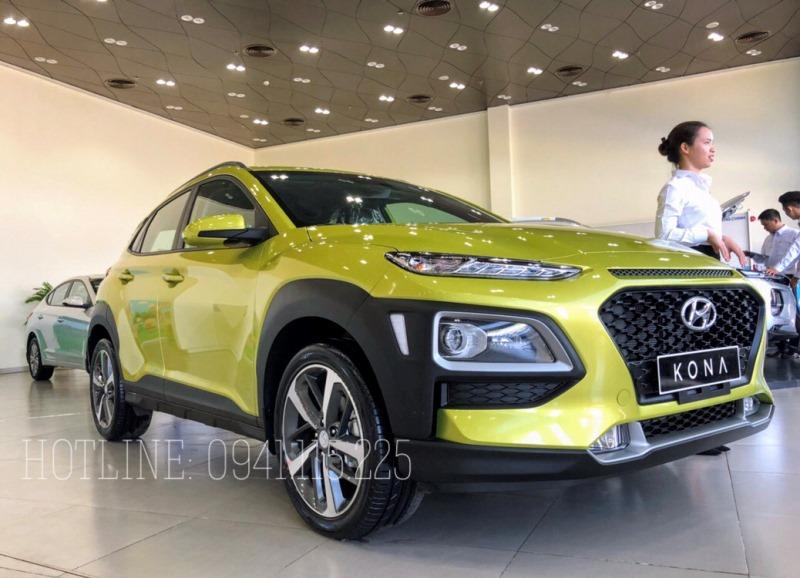 Xe Hyundai Kona 2020 màu vàng chanh