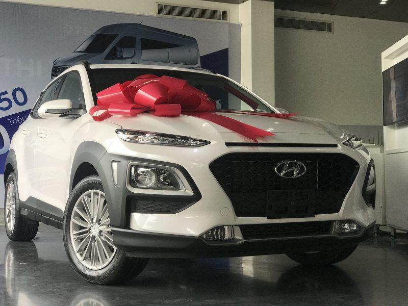 Hyundai Kona 2020 màu Trắng