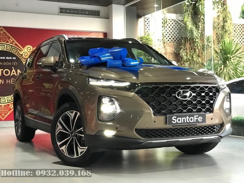 giá ra biển Hyundai Santafe 2020 bản cao cấp