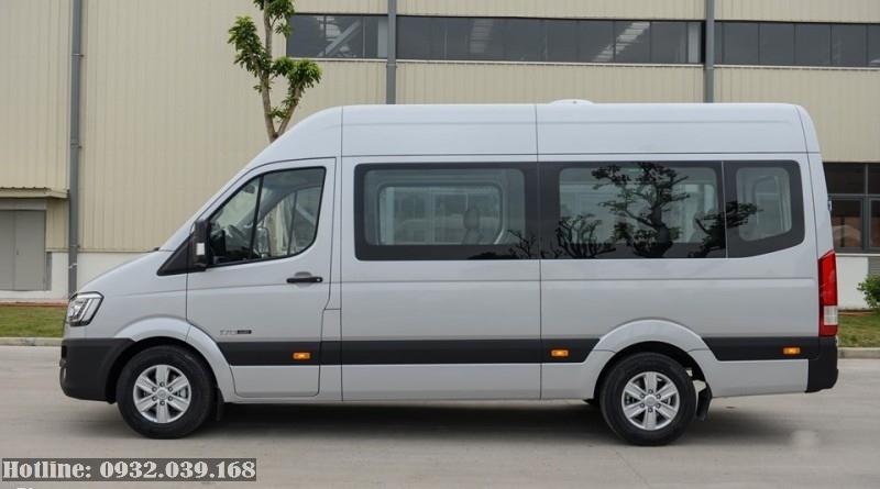 Kích thước xe Hyundai Solati 16 chỗ