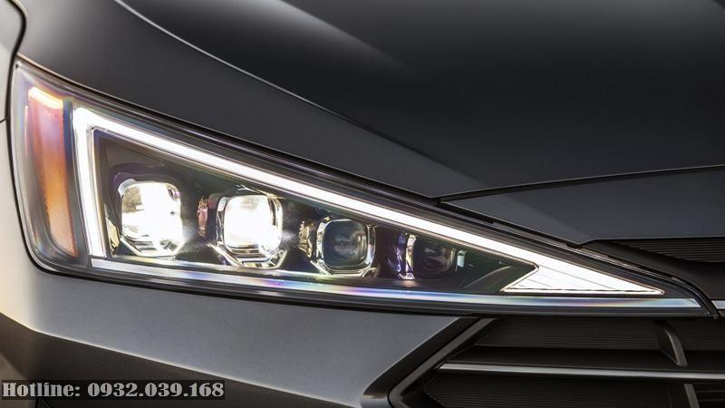 Đền pha Huynđai Ealntra facelift 2019