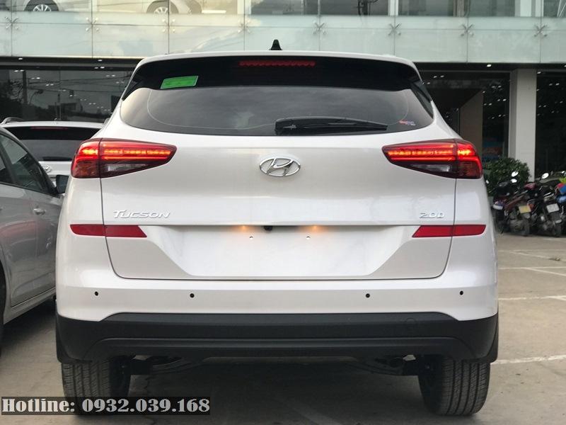 Phần đuôi xe Hyundai Tucson 2020 bản nâng cấp mới
