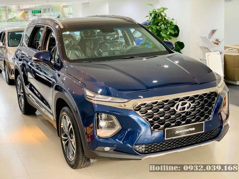 Bảng giá lăn bánh Hyundai Santafe 2020