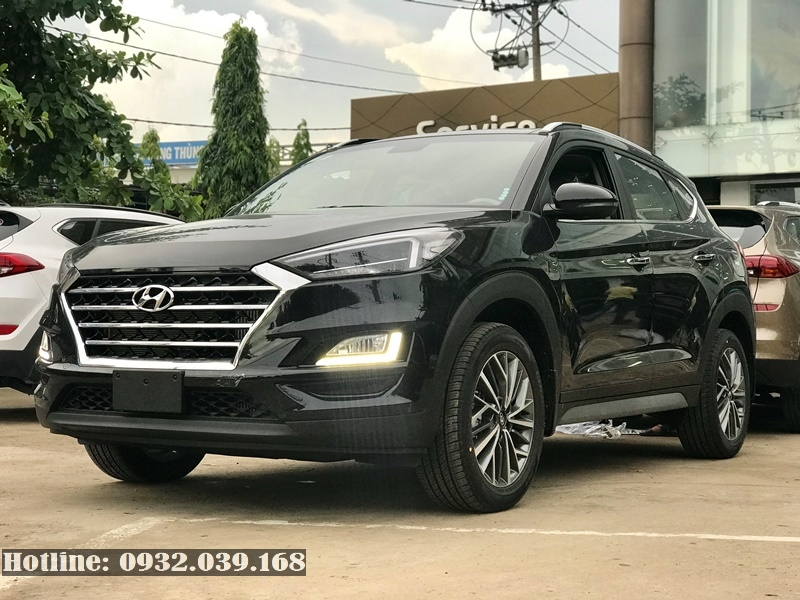 Hyundai Tucson 2020 xăng đặc biệt màu đen