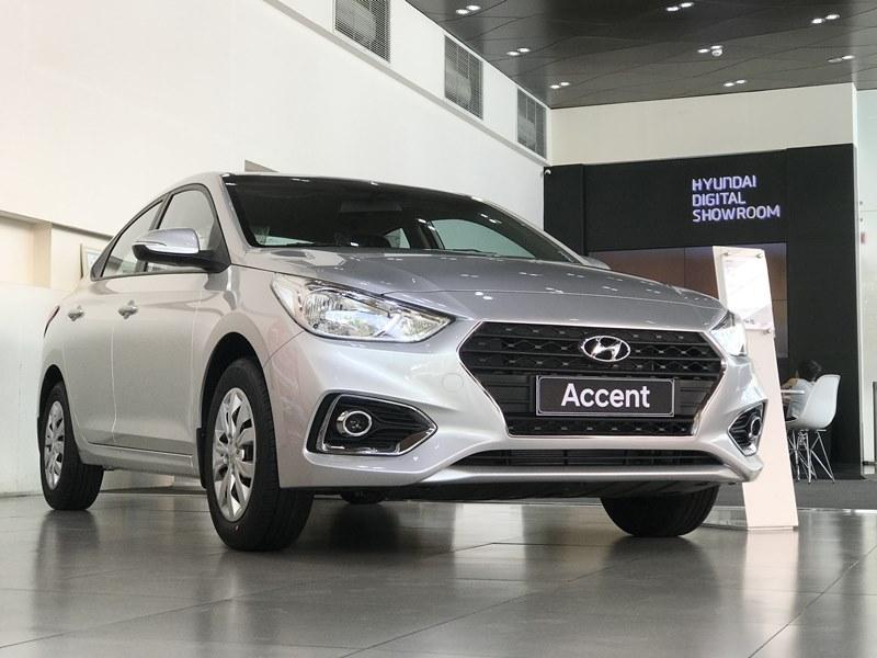 Xe Hyundai Accent 2020 1.4MT base màu bạc