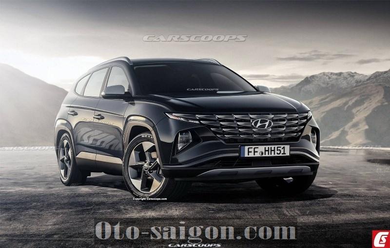 Hyundai Tucson 2021 hoàn toàn mới